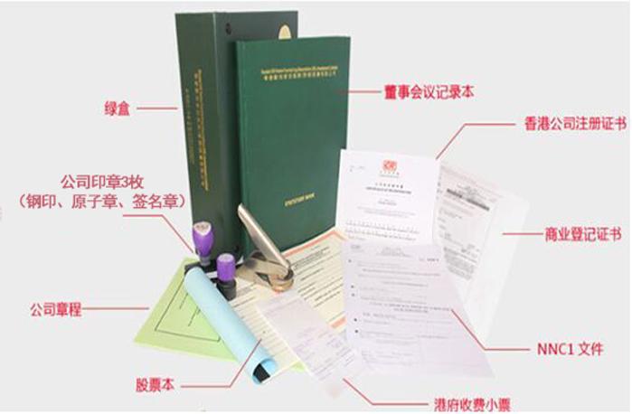 香港公司注册完成全套资料